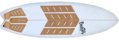 Kork Surfboard Grip Tailpad Footpad