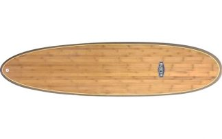 mid lenght surfboard holz bambus