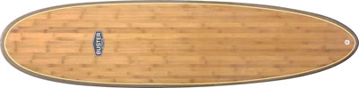Mid lenght surfboard shape holz